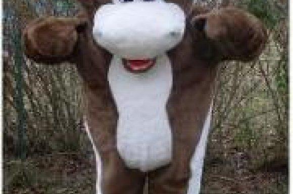 ML 39 & Mousse Loisirs - vente et location de costumes de mascottes Vache Montbéliarde à Oyonnax
