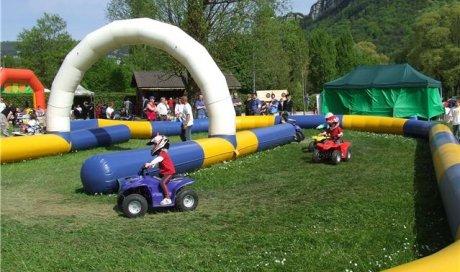 ML 39 & Mousse Loisirs - Initations quads enfants et ados à Oyonnax