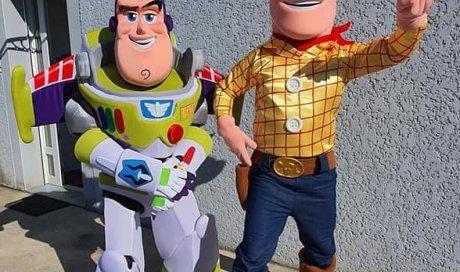 ML 39 & Mousse Loisirs - vente et location de costumes de mascottes Toys Story  à Oyonnax
